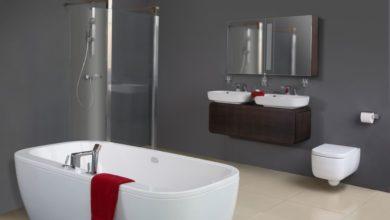 Photo of Opgrader badeværelset med nye møbler og nyt inventar